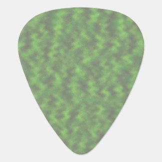 緑の抽象芸術 ギターピック