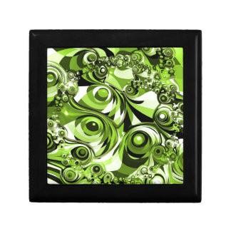 緑の抽象芸術 ギフトボックス