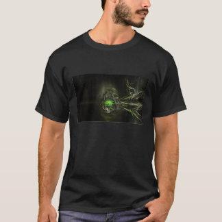 緑の抽象芸術 Tシャツ