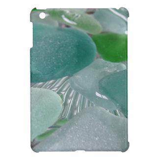 緑の振動緑海ガラス iPad MINIケース