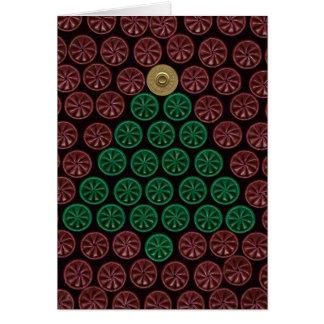 緑の散弾銃貝の木 カード