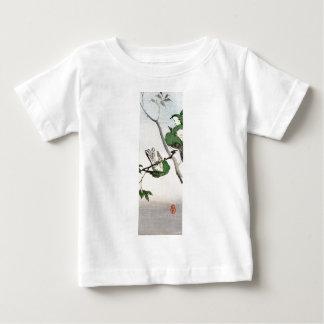 緑の日本のなすずめno.2 ベビーTシャツ