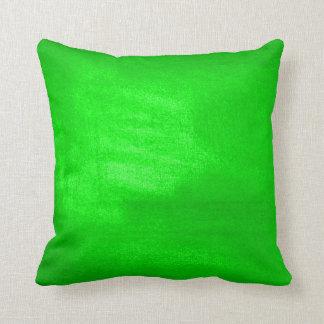 緑の明るい クッション