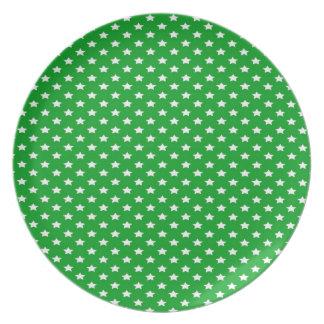 緑の星 プレート