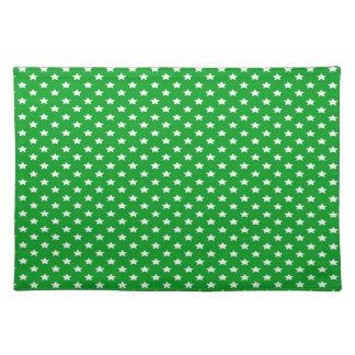 緑の星 ランチョンマット