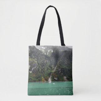 緑の景色のトートバック トートバッグ