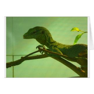 緑の木のモニター カード