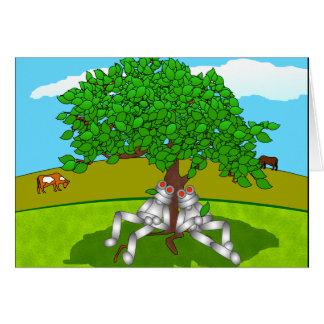 緑の木 カード