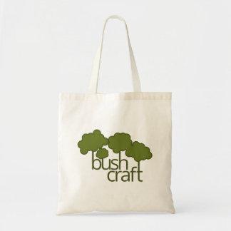 緑の木、薮の技術 トートバッグ