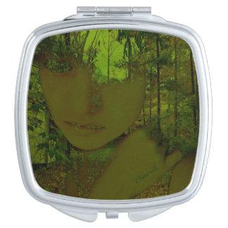 緑の森林コンパクトの鏡