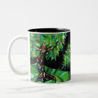 緑の森林ツートーンマグ ツートーンマグカップ