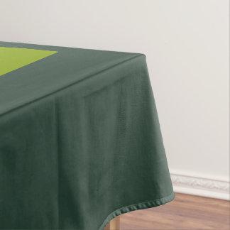 緑の森林豪華な無地のパネルだけ テーブルクロス