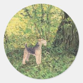 緑の森 ラウンドシール