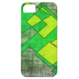 緑の正方形 iPhone SE/5/5s ケース