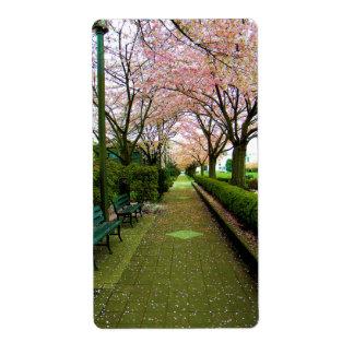 緑の歩行 ラベル