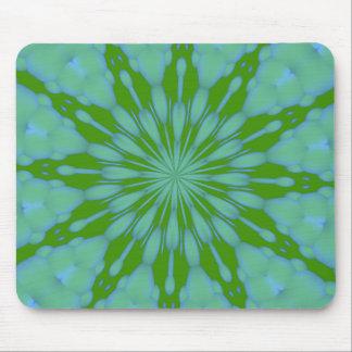 緑の泡禅のマウスパッド マウスパッド