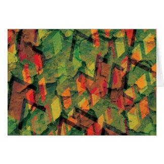 緑の泥 カード