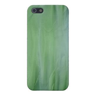 緑の液体の絹の効果4 iPhone SE/5/5sケース