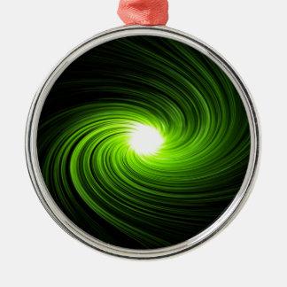緑の渦巻の概要 メタルオーナメント