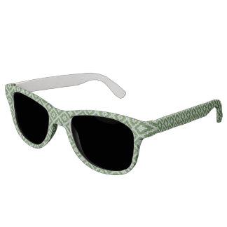 緑の渦巻ルネサンスによって分極されるレンズのサングラス サングラス