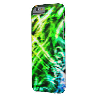 緑の渦巻6の電話箱 BARELY THERE iPhone 6 ケース