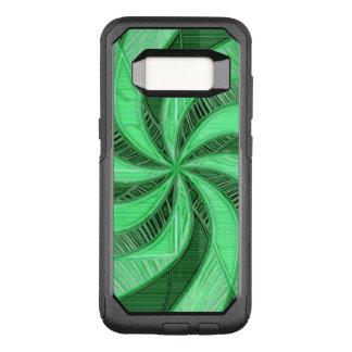 緑の渦巻 オッターボックスコミューターSamsung GALAXY S8 ケース