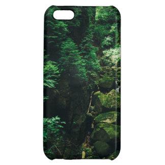 緑の滝の景色、自然の写真 iPhone5C