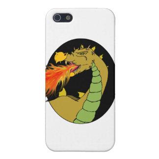 緑の火の呼吸のドラゴン iPhone SE/5/5sケース