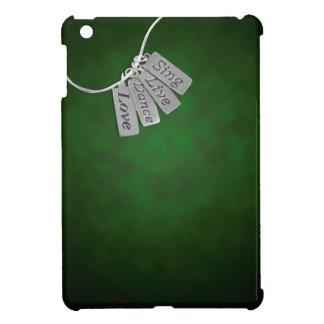 緑の煙で歌い、住み、踊り、そして愛して下さい iPad MINIケース