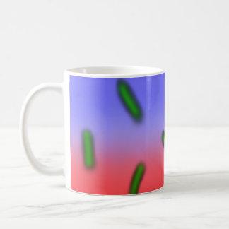 緑の熱の細菌 コーヒーマグカップ