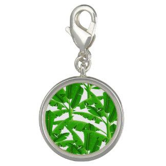 緑の熱帯ヤシの木 チャーム