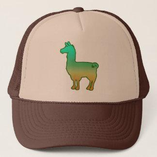 緑の熱帯ラマの帽子 キャップ