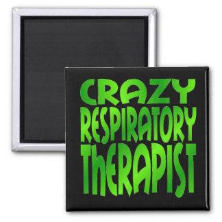緑の熱狂するな呼吸療法士 マグネット