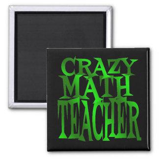 緑の熱狂するな数学の教師 マグネット
