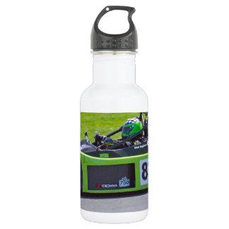緑の独身のなseaterのレースカー ウォーターボトル