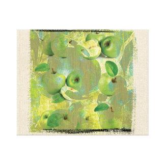 緑の生命の感覚のファインアート! キャンバスプリント