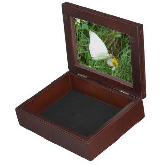 緑の白 ジュエリーボックス
