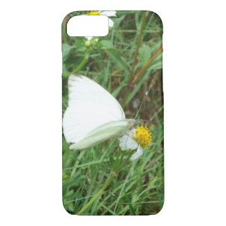 緑の白 iPhone 7ケース