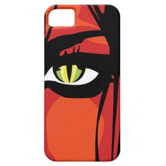 緑の瞳のiPhone 5の場合 iPhone 5 カバー
