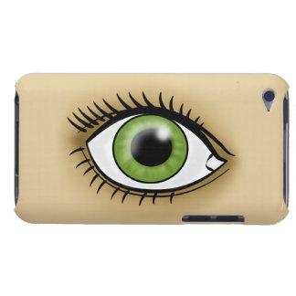 緑の瞳アイコン Case-Mate iPod TOUCH ケース