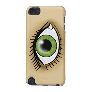 緑の瞳アイコン iPod TOUCH 5G ケース