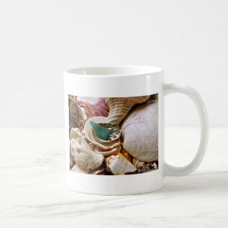 緑の破片 コーヒーマグカップ