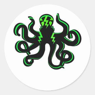緑の稲妻とのKraken ラウンドシール