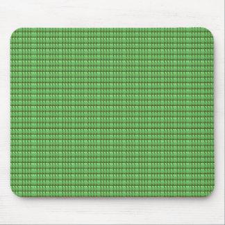 緑の空白のな水晶テンプレート マウスパッド