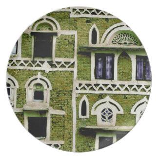 緑の窓およびドア プレート