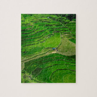 緑の米台地、フィリピン ジグソーパズル