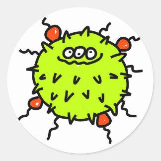 緑の細菌 ラウンドシール