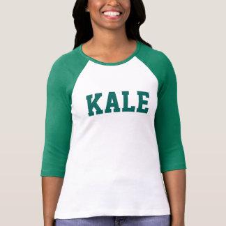 緑の緑葉カンラン大学Bella 3/4iの袖のRaglanのティー Tシャツ
