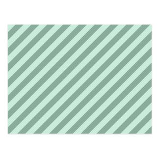緑の縞 ポストカード