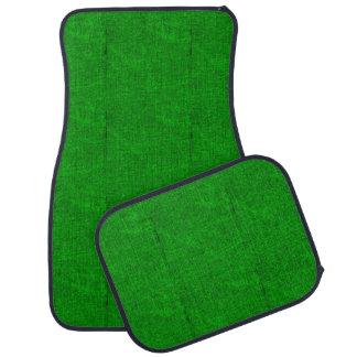 緑の織り目加工 カーマット